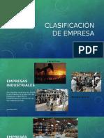 Clasificación de Empresa
