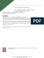 Schenkerian Analysis of Modern Jazz Questions About Method