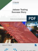 Showcase DatabaseSuccessTesting