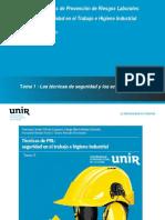 Tema 1 Tecnicas de Seguridad y Accidentes de Trabajo