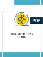 Presumtive Tax Guide