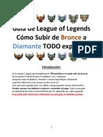 Guia League of Legends