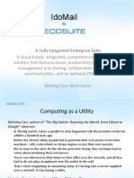 EcoSuite Overview 2010-07-12