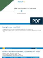 MAP vs Standard Price Scenarios