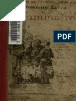 Claude Auge Troisieme Livre de Grammaire LIVRE DU MAITRE