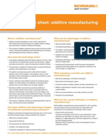 Additive Fact Sheet