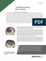L-10011 Revision 3 02 2014 Designing and Materialising Custom Skull Implant IDEE