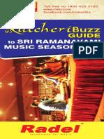 Sri Ramanavami Music Festival 2017 Schedules