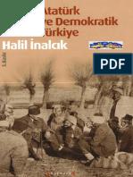 Halil İnalcık - Atatürk Ve Demokratik Türkiye