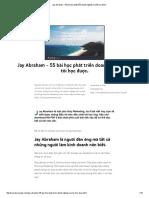 Jay Abraham - 55 Bài Học Phát Triển Doanh Nghiệp Mà Tôi Học Được