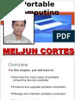MELJUN CORTES Computer_Organization_Lecture_Chapter_19_Portable_Computing