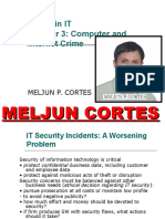 MELJUN CORTES INTERNET_SECURITY_Computer_Internet_Crime