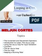 MELJUN CORTES Looping_C_Lecture