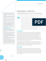 Agentless Visibility ForeScout Solution Brief