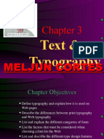 MELJUN CORTES Multimedia_Lecture_Chapter3_Text_&_Typography