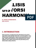 11.6 Analisa Distorsi Harmonik (M.irfan S.)