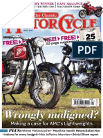 The Classic MotorCycle - April 2015 {Bk}