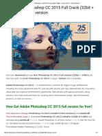 Download Photoshop CC 2015 Full Crack (32bit + 64bit) - newest version » Sick Download
