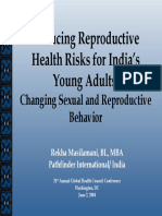 Youth Reproductive Health