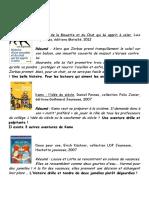 Conseils Lecture CM2-6eme