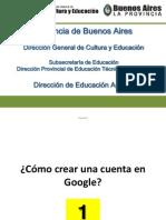 Agraria Cómo crear una cuenta en Google