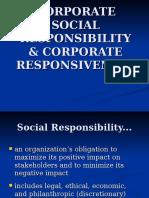 2.Corporate Social Responsibility & Corporate Responsiveness 1