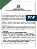 Edital Bolsa Permanencia Palmares PDF
