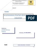 processus achat industriel