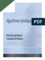 Operateurs genetiques - 2