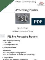 FSL PreProcessing Pipeline OHBM15 Jenkinson