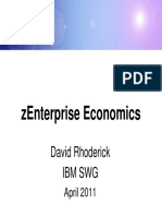 DECK IBM s05 ZEnterprise Economics