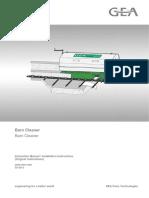 2002-9001-005EN0513 Barn Cleaner - instrution manual