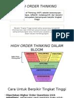 High Order Thinking