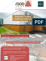 Cranwood Industries Timber Cladding Presentation