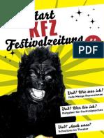 KFZ - Kaltstart-Festivalzeitung / # 02 / 1. Jahrgang