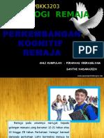 Perkembangan Kogntif Remaja (1)