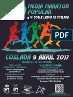 DEPORTE   Revista oficial de la XXXIX Media Maratón Popular de Coslada