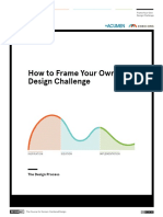 Frame Your Own Design Challenge