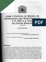 Cap 4 - Auge do declínio do modelo de crescimento com endividamento 1974-1984.pdf