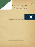 Programa de Metas Do Presidente Puscelino Kubitschek V1 1950_PDF_OCR