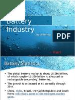 Auto Battery Industry Ex i De