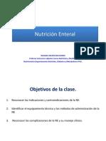 Nutrición Enteral Diplomado