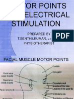 MOTOR POINTS FOR ELECTRICAL STIMULATION FOR PHYSIOTHEAPIST