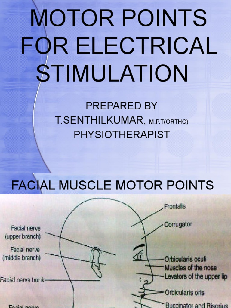 E-stim for facial muscles