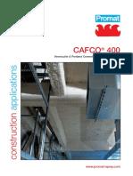 CAFCO 400 Data Sheet