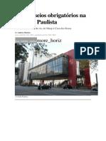 Seis Passeios Obrigatórios Na Avenida Paulista
