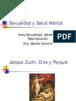 Sexualidad y Salud Mental. 2008