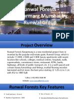 Runwal Forests Price - Kanjurmarg Mumbai by Runwal Group