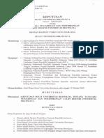 SK Rektor Nomor 322SK2007 Tata Cara Pemilihan Rektor