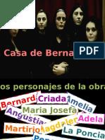 Bernarda Alba Personajes y Simbolismo